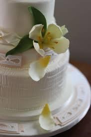 textured fondant tulip wedding cake cakecentral com