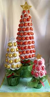 trio of lindt trees www sweetcandytablesbuckinghamshire