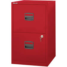 Quill File Cabinets Bisley 2 Drawer Vertical File Red Letter 17 U0027 U0027w File2 Rd