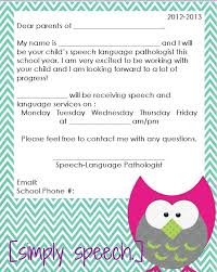 358 best slp parent teacher information images on pinterest