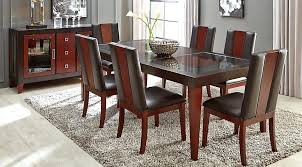 Used Dining Room Table And Chairs Rooms To Go Mirror Nxte Club
