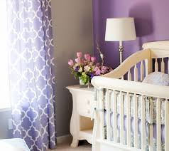 Purple Curtains For Nursery Inspired By Amethyst 10 Purple Hued Nurseries For Babies Disney