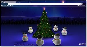 chrome themes cute google chrome themes christmas holiday themes