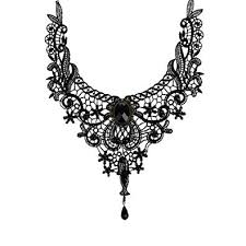 gothic collar necklace images Bestim incuk victorian steampunk style lace gothic collar lolita jpg