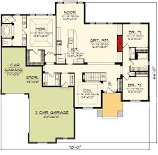 Ranch With Basement Floor Plans 197 Best House Plans Images On Pinterest Dream House Plans