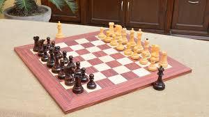 100 mid century modern chess set the grandmaster chess set and