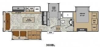 rv bunkhouse floor plans two bedroom fifth wheel webthuongmai info webthuongmai info