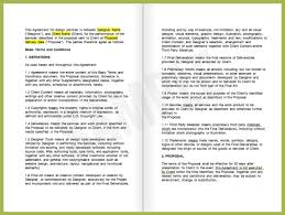 business contracts contract template doc fjc security airport