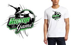 2015 honor the game soccer t shirt logo design ur art studio