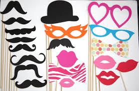 foto requisiten hochzeit 20 photobooth requisiten bärte lippen hochzeit foto booth