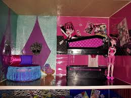 Monster High Room Decor Ideas 30 Best Monster High Doll House Images On Pinterest Monster High