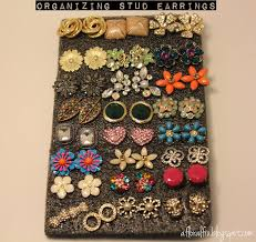 organize stud earrings how to organize your stud earrings makeup and jewelry