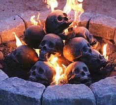 Firepit Logs Pit Skull Logs The Green