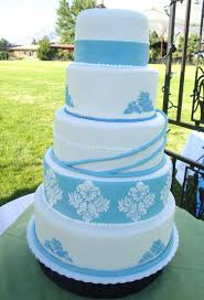 wedding cakes baby blue and white diary of a cakeaholic cake