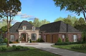 two story french country homes with attached garage country