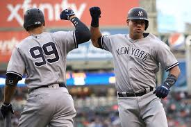 Yankees Aaron Judge Risking Historic Season With Home Run Derby - yankees powerful duo is proving to be worth the headaches