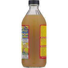 bragg organic apple cider vinegar raw unfiltered 16 0 fl oz