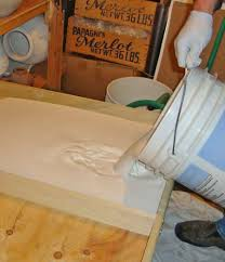 used ceramic pouring table making wedging table and clay recycling plaster boards tips and