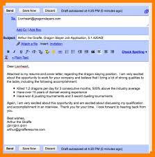 email example for sending resume email samples for sending resume