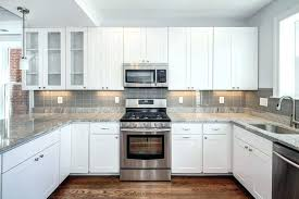 kitchen subway tile backsplash for white cabinets kitchen subway tile for white cabinets