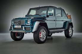 jeep mercedes red 2017 mercedes maybach g650 landaulet officially debuts motor trend