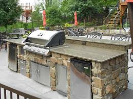 outdoor kitchen furniture outdoor kitchens fireplace stone patio