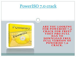 poweriso full version free download with crack for windows 7 download poweriso 7 0 with full crack pro full hax