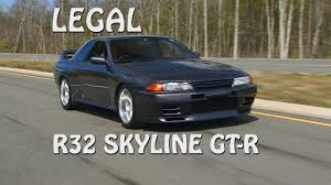 motorweek over the edge driving a r32 nissan skyline gt r youtube