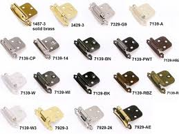 door hinges overlay type collection for kitchen cabinet self