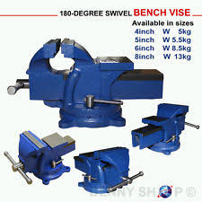 Mechanics Bench Vise Engineers Bench Vice Ebay