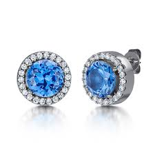 titanium stud earrings titanium earrings with pearls and multi cz diamond stones