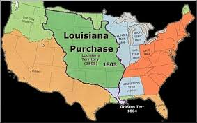usa map louisiana purchase the louisiana purchase thinglink