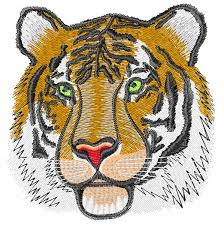 tiger embroidery design embroidery designs embroidery and tigers