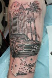 cool looking car tattoo tattoomagz