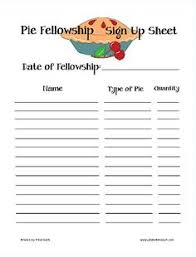 potluck printable sign up sheet thanksgiving church signs pictures