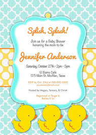 duck baby shower invitations duck baby shower invitation templates ba shower duck invitations