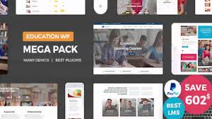 education pack education learning theme wp themeforest website