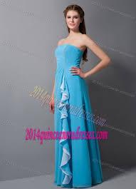quinceanera damas dresses blue chiffon best seller quinceanera dama dresses for summer