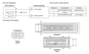 hyundai accent engine coolant temperature sensor ects