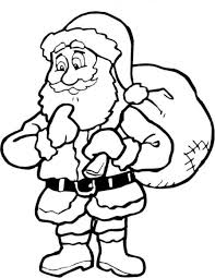 download coloring pages santa coloring pages santa coloring