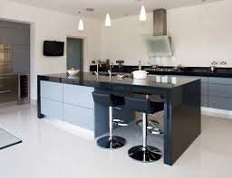 grey kitchen cabinets with black countertops 20 contemporary black countertops in the kitchen home