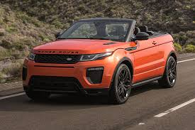 range rover land rover 2016 roofless streak range rover evoque finally goes convertible for
