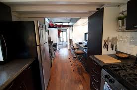 open plan design tiny house on wheels