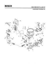 Bosch Dishwasher Water Inlet Filter Parts For Bosch Shu3036 Uc 12 Fd 8003 Dishwasher