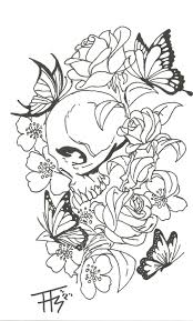 skull and butterfly designs skull butterfly design caldwell