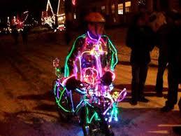bicycle of lights on peacock se portland