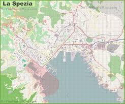 La City Map Large Detailed Map Of La Spezia