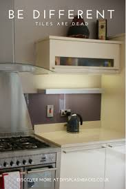 kitchen splashback ideas uk 23 best purple u0026 pink glass splashbacks images on pinterest
