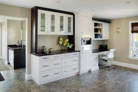 Kitchen Desk With Hutch Contemporary Kitchen Modern Hutch Home In Tillsonburg 1349 640x426