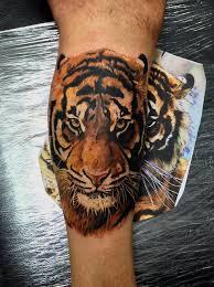 69 best tiger tats images on pinterest tatting animal tattoos